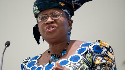 The United States is preventing Okonjo-Iweala from being named DG of the World Trade Organisation