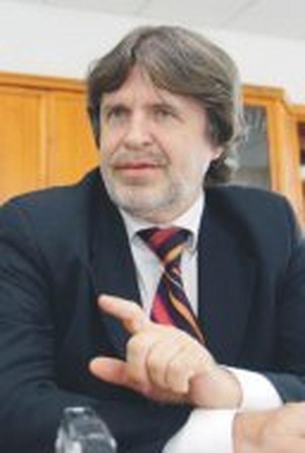 Adam Sośnierz, wiceprzewodniczący sejmowej Komisji Zdrowia