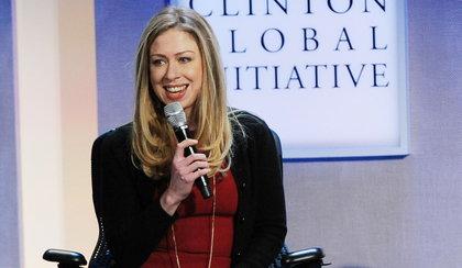 Córka Clintonów jest w ciąży!