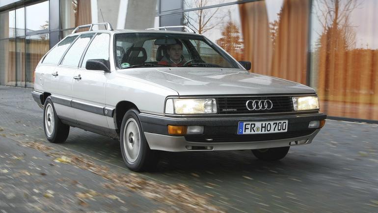 Audi 200 Avant - klasyczne quattro