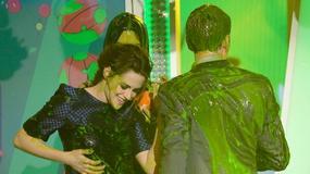 Kids Choice Awards 2013: Kristen Stewart oblana zieloną mazią. Ewa Farna też triumfuje