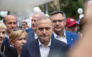 Schetyna: Zatrzymano Giertycha, by nie ujawnić informacji z piątkowej rozprawy Czarneckiego
