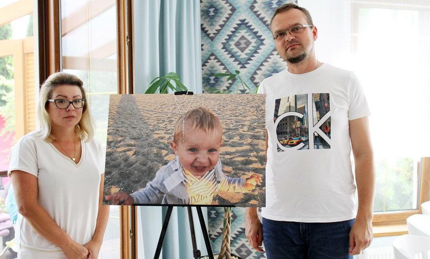 Rodzice nie mogą pogodzić się ze śmiercią swojego synka Maksymiliana