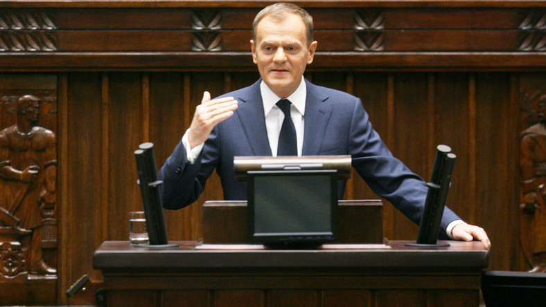 Donald Tusk broni pomysłu Gowina