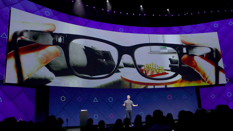 Facebook CEO Mark Zuckerberg has said the end-goal for AR is lightweight glasses that display virtual objects in the real world.