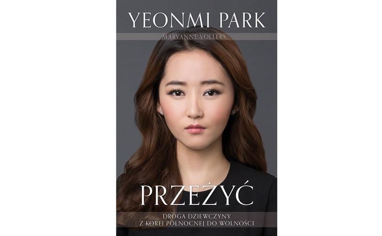 """okładka książki Yeonmi Park """"Przeżyć"""""""