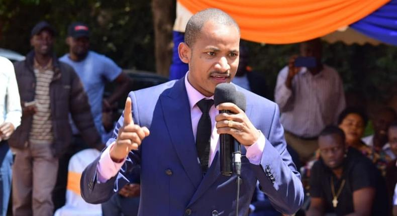Embakasi East MP Babu Owino responds after Starehe's Charles Jaguar asked for a rematch fist fight