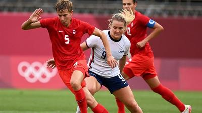 Olympic women's football final moved to evening