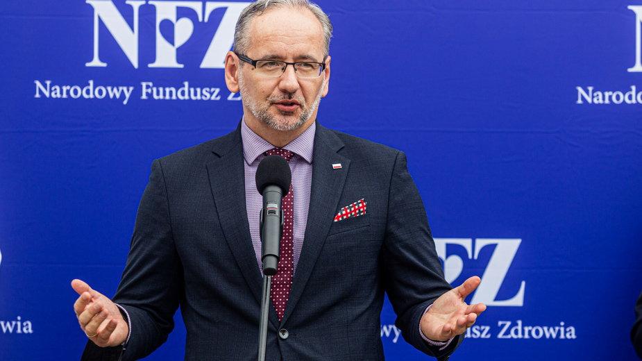 Minister Adam Niedzielski opowiedział o 4 fali koronawirusa oraz szczepieniach