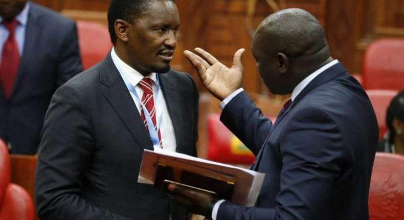 Agriculture CS Mwangi Kiunjuri denies writing resignation letter