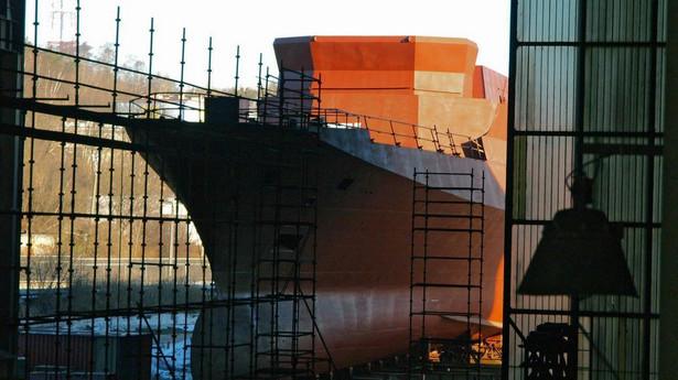 Zamiast nowoczesnej, wielozadaniowej korwety Gawron po 15 latach budowy zwodowano rok temu patrolowiec Ślązak , fot. Ministerstwo Obrony Narodowej