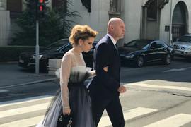Snežana Dakić i njen bivši muž se sreli na venčanju Anje Stojković i PRAVILI SE DA SE NE POZNAJU