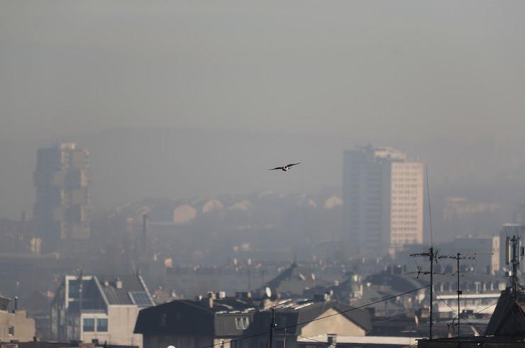 Beograd, zagađenje, smog, zagađen vazduh