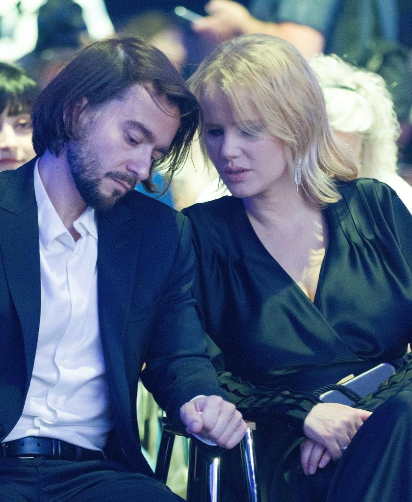 Joanna Kulig z mężem Maciejem