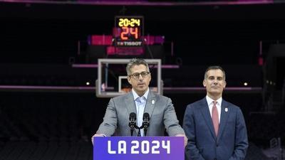 LA bid 'not only about 2024'