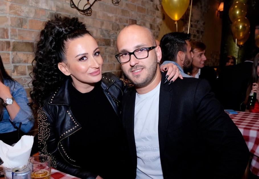 Andreana Čekić sa suprugom
