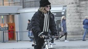 Madonna na wycieczce rowerowej