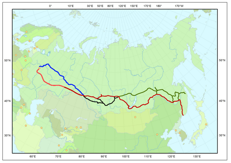 Map_Trans-Siberian_railway