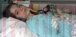 Weronika zmarła w szpitalu w Łodzi