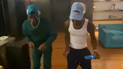 Wizkid announces new single in exclusive video with Ghana's iPhxne DJ (WATCH)