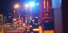 Ojciec podpalił córkę w mieszkaniu