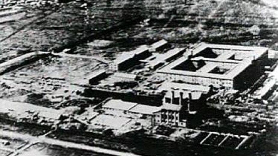 Kompleks budynków, w którym działała Jednostka 731
