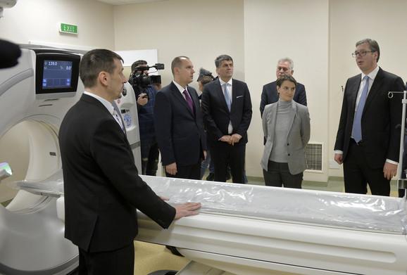 Otvaranje novog Kliničkog centra Niš