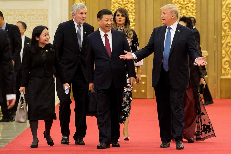 Melania Trump w sukni inspirowanej tradycyjnym chińskim strojem