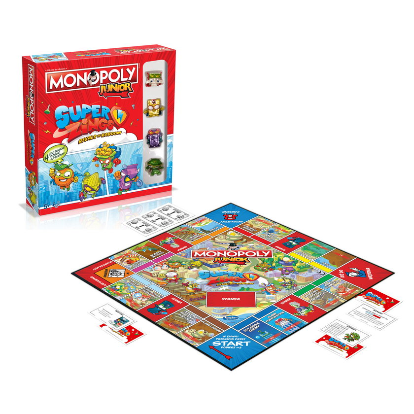 Gra Monopoly w wersji junior