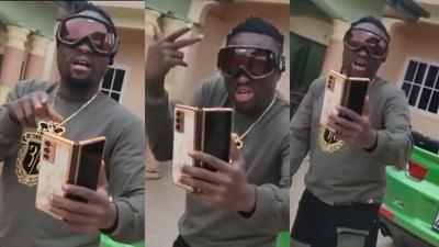 Gospel singer Brother Sammy switches style to drop rap bars on Yaw Tog's 'Sore' (WATCH)