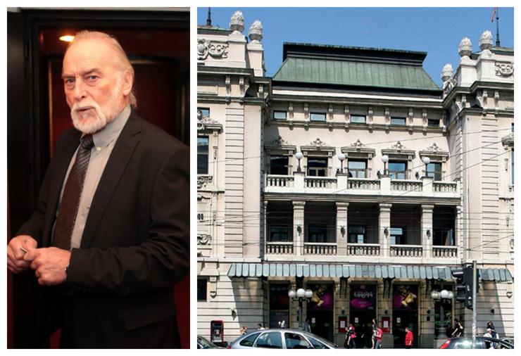 Skandal u Narodnom pozorištu, okršaj Tanasija Uzunovića i balerine