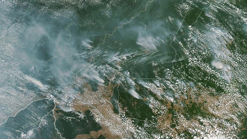 """""""Amazona jest większa od Europy, jak można walczyć z kryminalnymi podpaleniami na takim obszarze ? Nie mamy na to środków"""" - powiedział Bolsonaro dziennikarzom. Ekolodzy przypominają jednak, że niedawno Bolsonaro odrzucił pomoc w walce z pożarami oferowaną przez donatorów."""