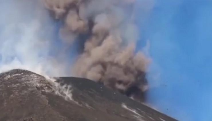 Etna, erupcija