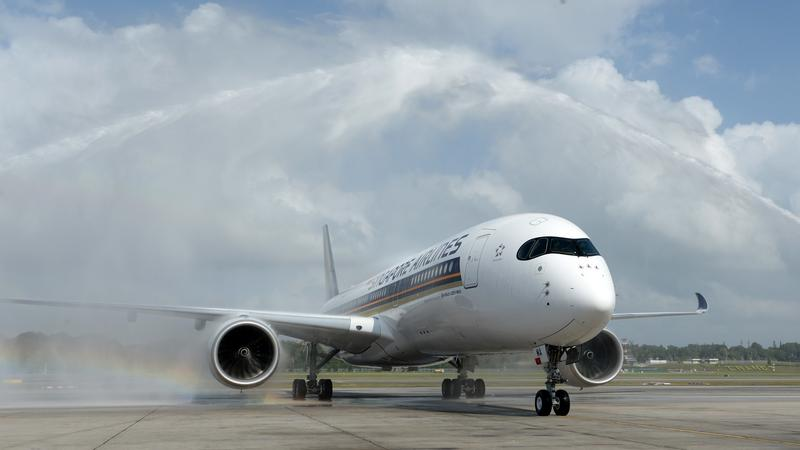 SINGAPORE-AVIATION-SIA-AIRBUS 350