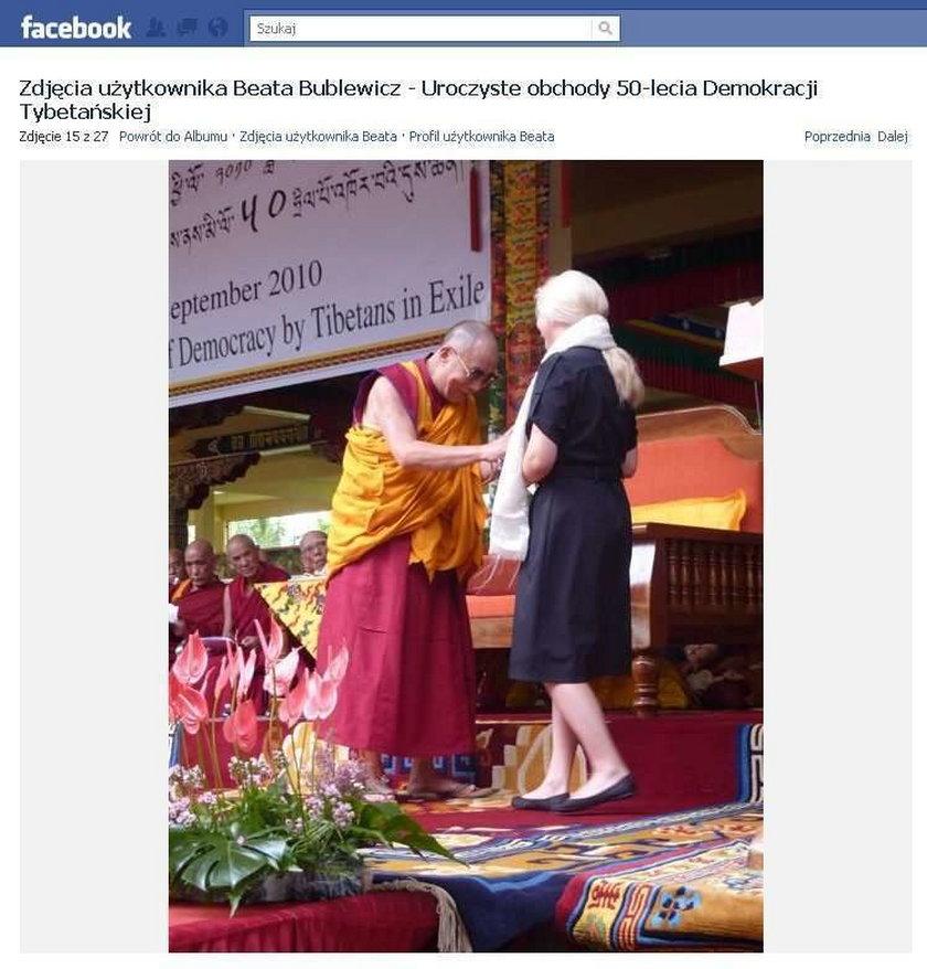 Posłanka w Tybecie