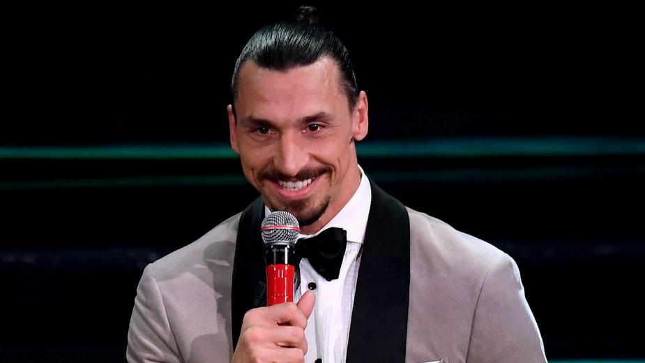 Zlatan Ibrahimović zaśpiewał na festiwalu Sanremo