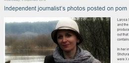 Zdjęcia nagiej dziennikarki w sieci! To zemsta...