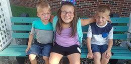 Tragiczna śmierć rodzeństwa. Siostrzyczka osłoniła braci własnym ciałem