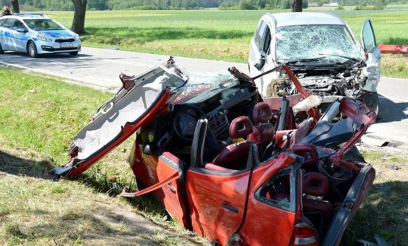 Śmiertelny wypadek w Szastałach