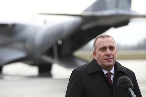 Grzegorz Schetyna, minister spraw zagranicznych RP
