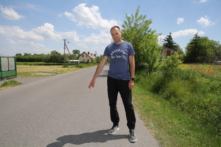 Robert Lewandowski, policjant z Żychlina, kibicuje reprezentacji i swojemu imiennikowi