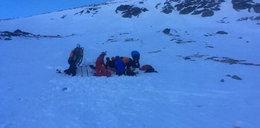 Akcja ratunkowa w Tatrach. Polscy turyści poważnie ranni