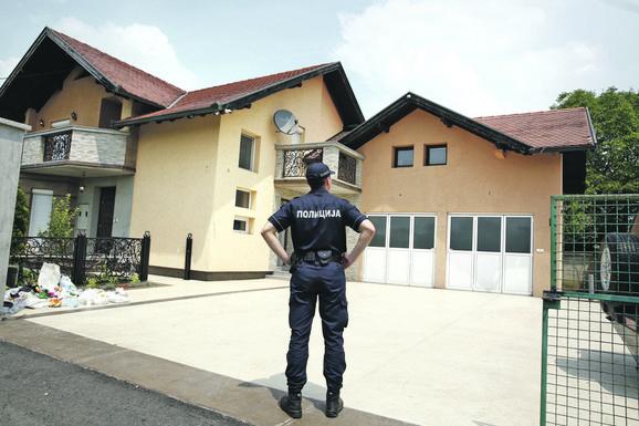 Kuća u koju su osumnjičeni upali