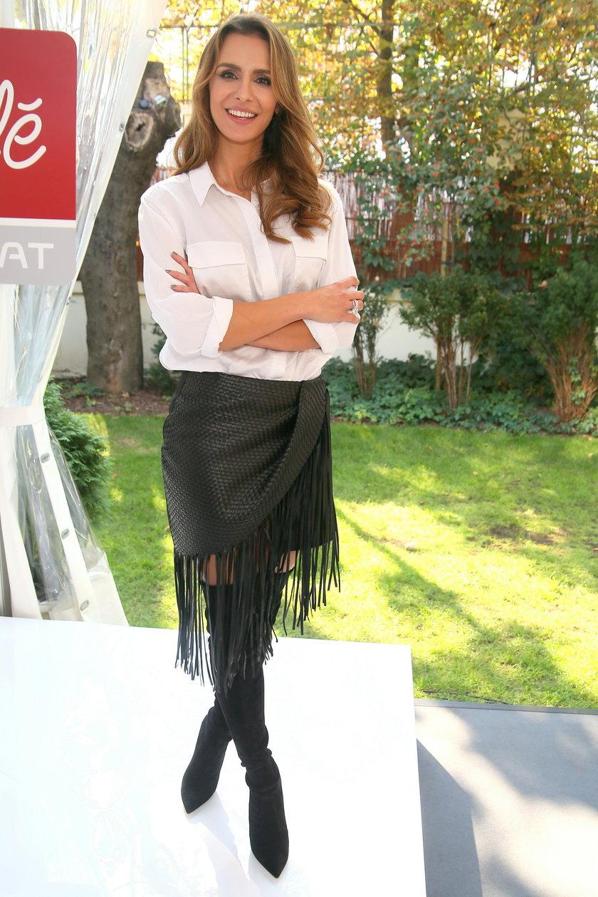 Sara Boruc na prezentacji jesiennej ramówki stacji Polsat Cafe