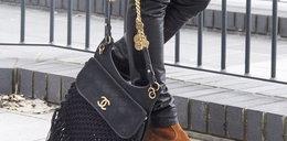 Sara Boruc ciągnie po chodniku torebkę za 27 tysięcy!
