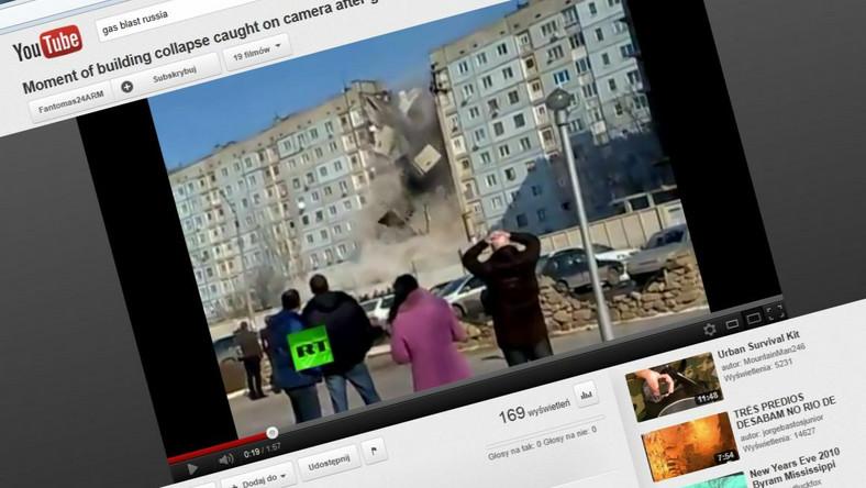 Tragiczna w skutkach eksplozja gazu w bloku