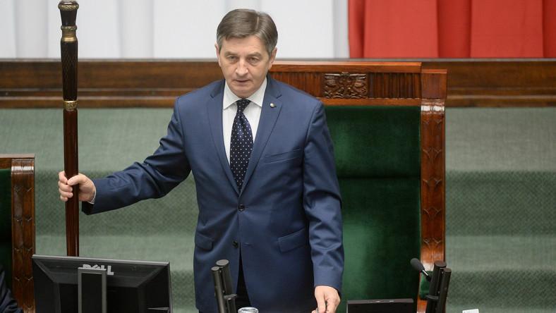 Marszałek Marek Kuchciński