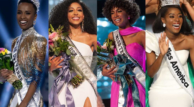 Black girl magic! Women of color win major beauty pageants across the world