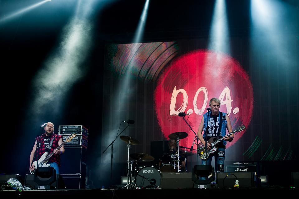 DOA na Jarocin Festiwal 2016