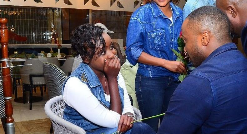 Jowie proposes to Maribe